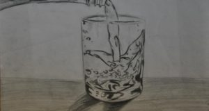 pusti, naj te nosi voda